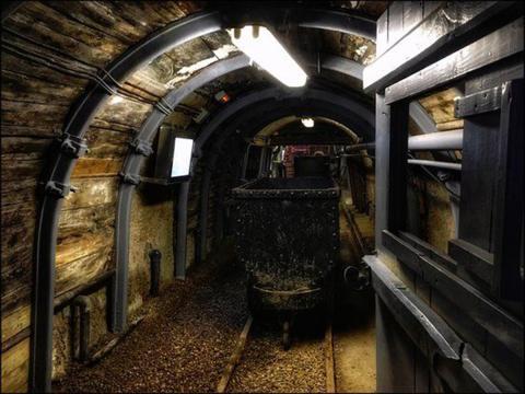 Túnel de la Mina Marcelo Jorissen.