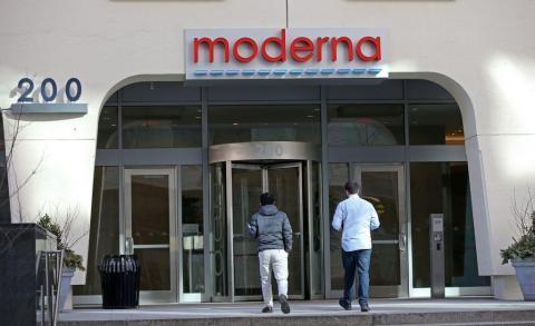 Oficinas de Moderna en Cambridge, Massachusetts.