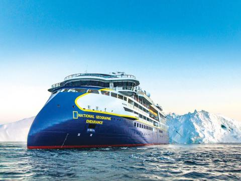 National Geographic Endurance is an arctic cruise ship.