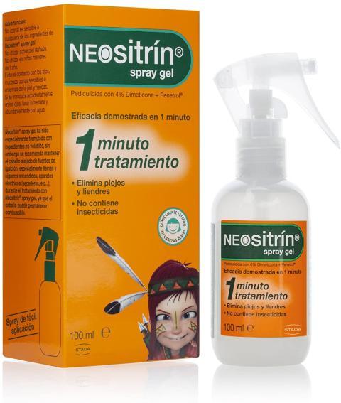 Neositrín Spray Gel