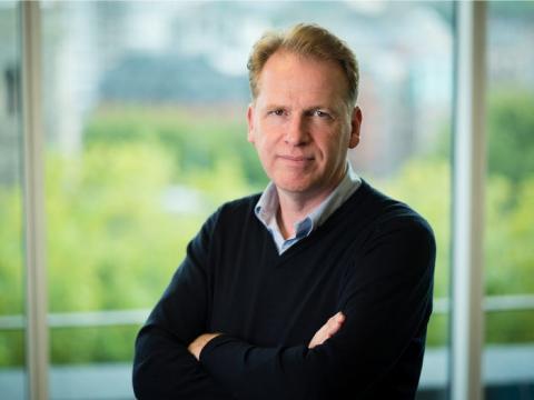 Nigel Toon, CEO de AI Graphcore.