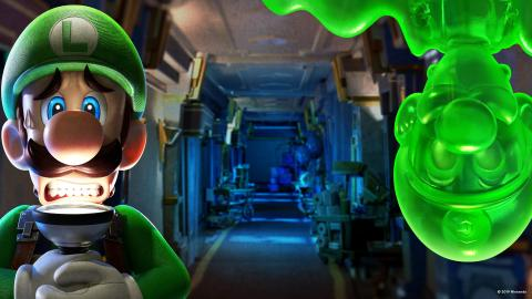 Nintendo Zoom Luigi's Mansion 3