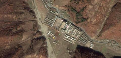 El campo de prisioneros de Jongori, en Corea del Norte.