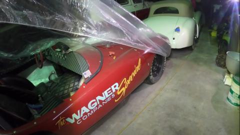 Devin de 1950, coche de carreras.