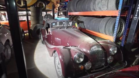 Morgan con un motor Buick V6.