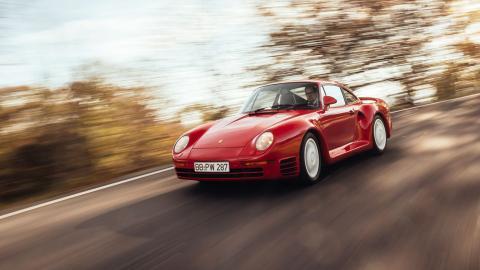 Porsche 959 S Vs Ferrari F40