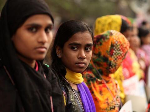 La pobreza es un factor clave en el matrimonio infantil.