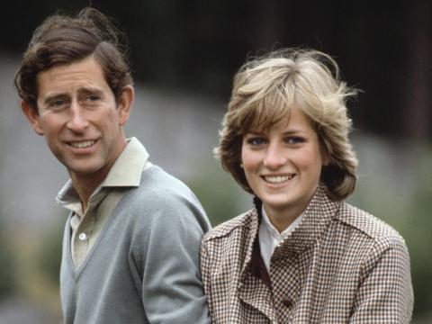 El príncipe Carlos y la princesa Diana en su luna de miel en 1981.