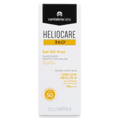 Protector solar Heliocare 360º oil-free.