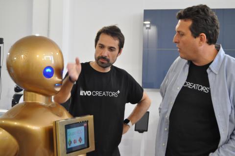 Un robot del Grupo ADD.