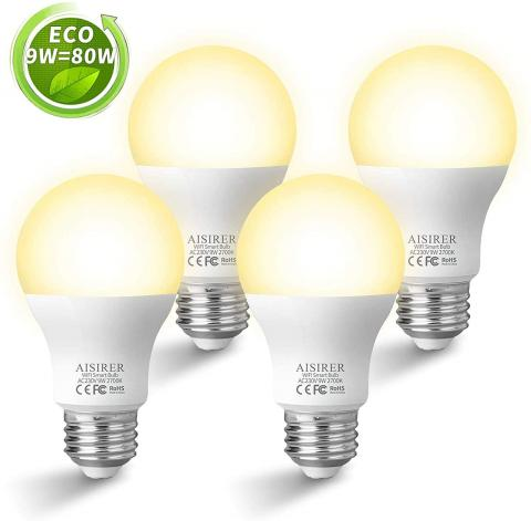 Set de bombillas inteligentes Aisirer