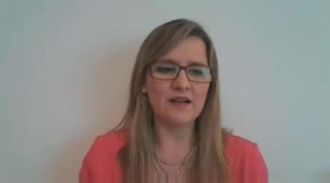 Vanessa Candeais, responsable de la iniciativa Shaping the Future of Health and Healthcare de la Organización Mundial de la Salud.