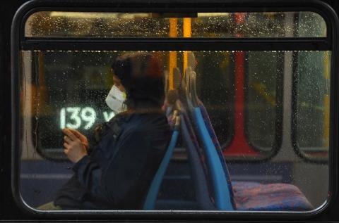 Viajar en bus en tiempos de coronavirus.