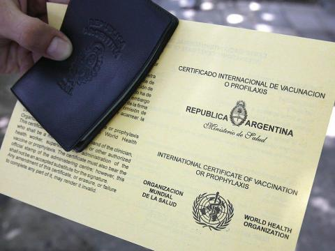 Some countries already have passports detailing vaccination records.