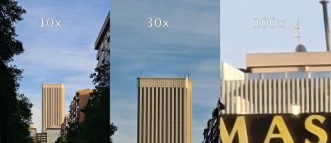 Zoom 100x Samsung Galaxy S20 Ultra
