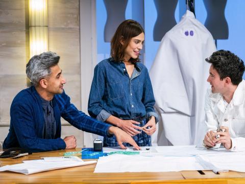 Tan France y Alexa Chung son los anfitriones de 'Next in Fashion'.