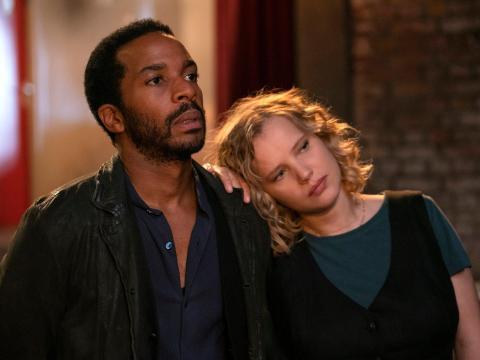 André Holland y Joanna Kulig coprotagonizan 'The Eddy'.