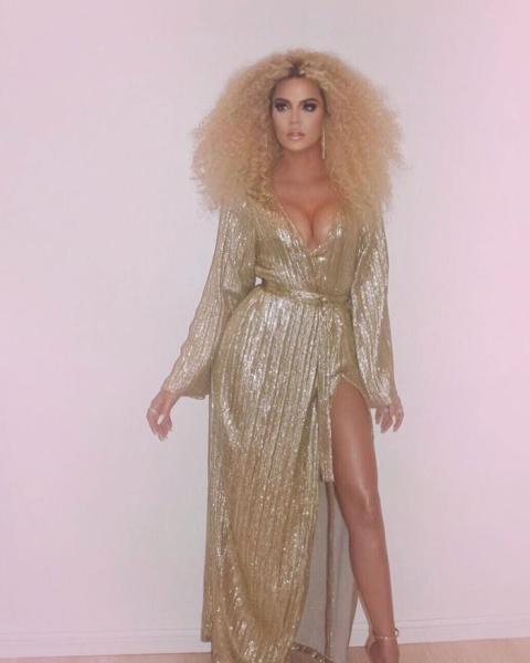 Khloé Kardashian rinde homenaje a Diana Ross.