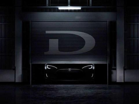 """8. The D! Cryptically announced in 2015, the """"D"""" meant """"dual motor"""" — Tesla had added all-wheel-drive to the Model S."""