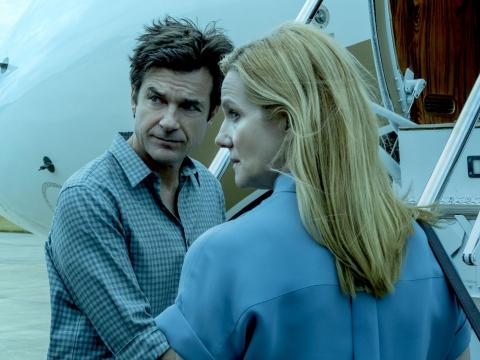 "Jason Bateman and Laura Linney costar in ""Ozark."""