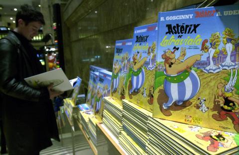 Asterix y Obelix.