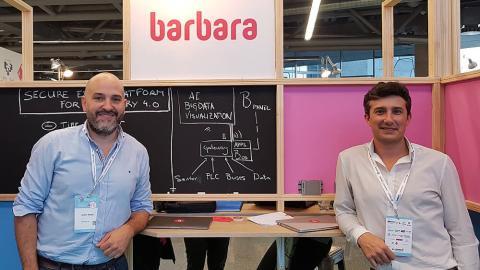 Isidro Nistal y David Purón, socios de Barbara IoT.