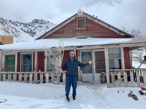 Underwood in Cerro Gordo.