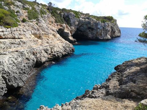 Calas en Mallorca.