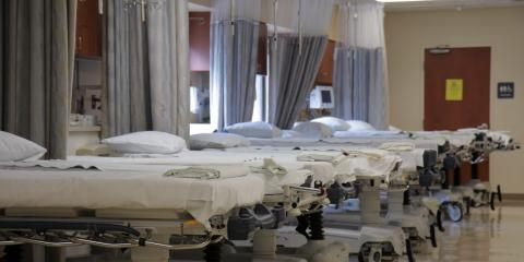 Camas de hospital en Italia