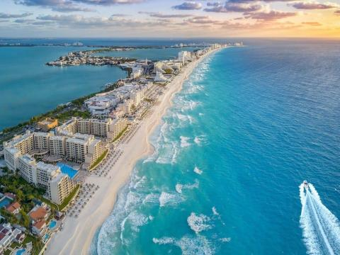 Cancun, Mexico: Free hotel stays, car rental, and discounts at theme parks, golf courses, and spas.
