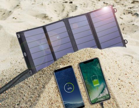 Cargador solar Vitcoco