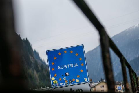 Cartel de Austria.