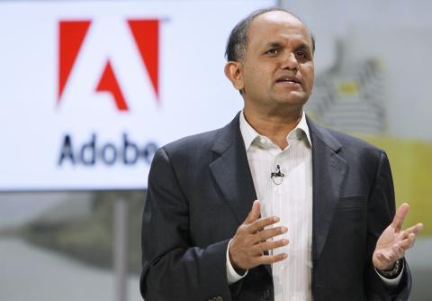 El CEO de Adobe, Shantanu Narayen.