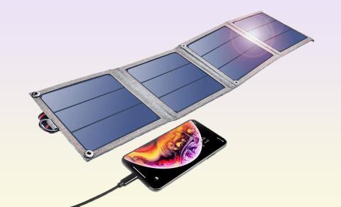 CHOETECH cargador solar