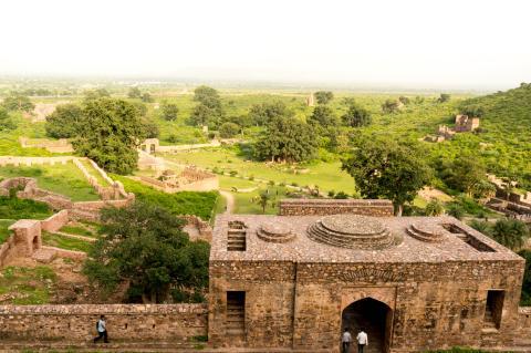 La ciudad india de Bhangarh