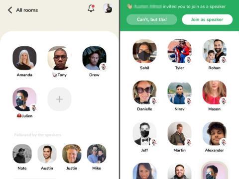 Clubhouse es una aplicación de encuentros y fiestas virtuales.
