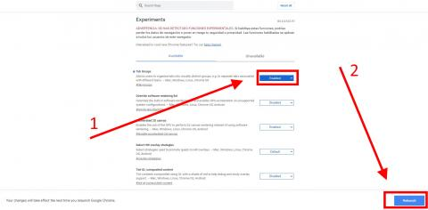 Cómo agrupar y ocultar grupos de pestañas en Google Chrome