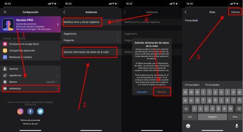 Cómo borrar los datos de FaceApp de forma fácil y rápida