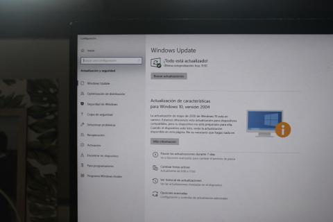 Cómo desinstalar la actualización Windows 10 May Update 2020