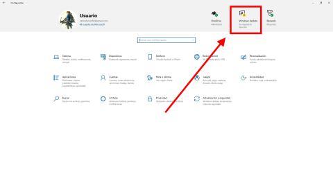 como desinstalar la actualizacion Windows Update May 2020