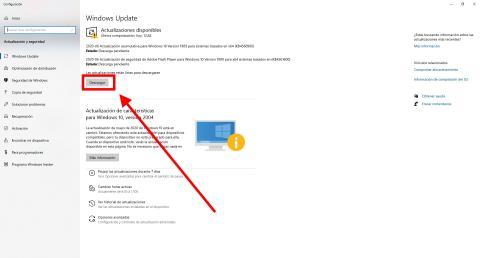 Cómo instalar la actualización acumulativa de Windows 10