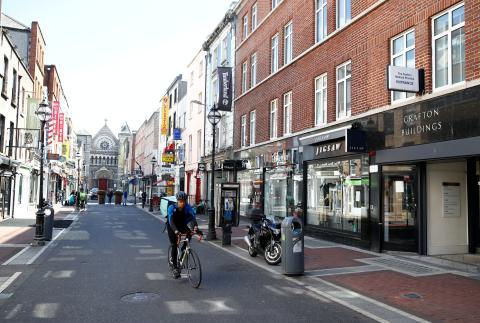 Confinamiento en Dublín, Irlanda.