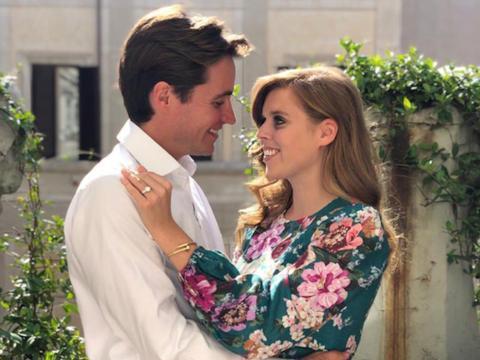 Incluso la princesa Beatriz tuvo que cancelar su boda real debido al coronavirus.