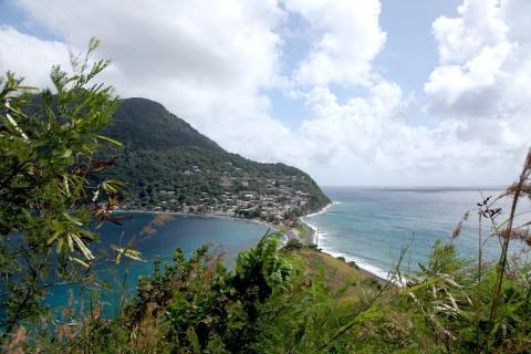 Scott's Head, Dominica.