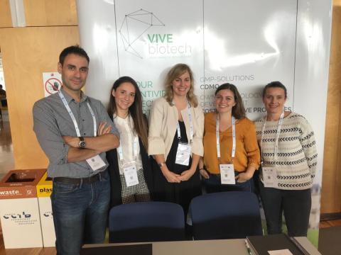 El equipo de Vivebiotech.