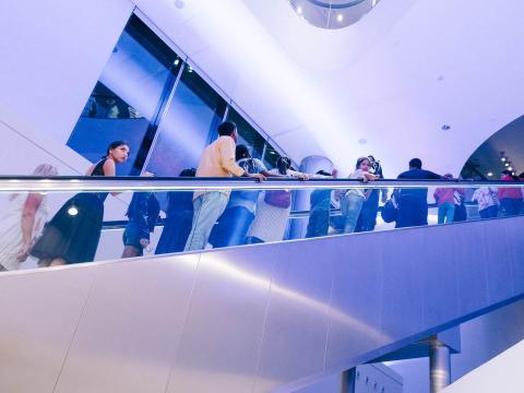 Escaleras del Burj Khalifa