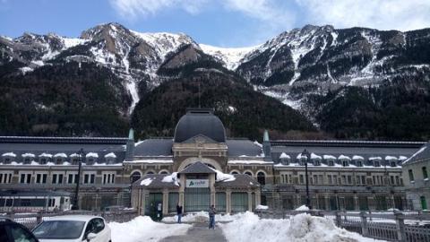 Estación Internacional de Confranc.