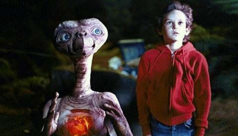 E.T. la película.