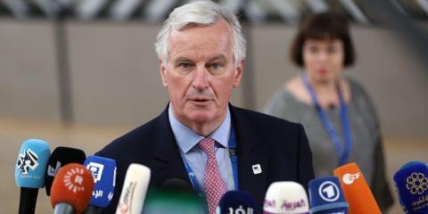 El jefe del equipo negociador de la UE, Michel Barnier.