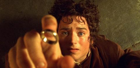 Frodo en El senor de los anillos